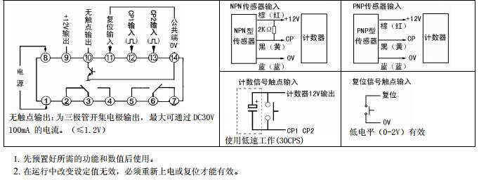 ct6s计数器接线原理图